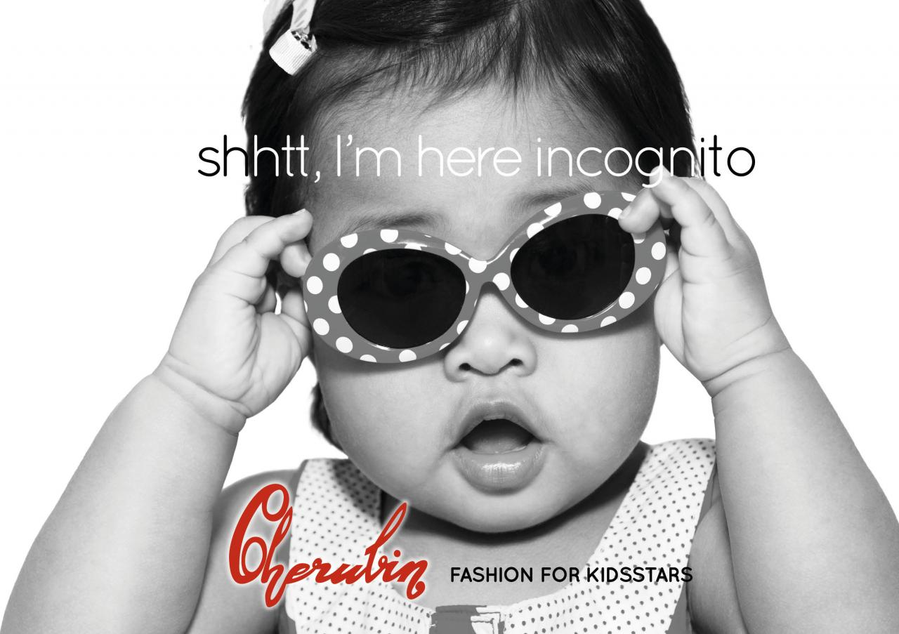 Cherubin Fashion for kidsstars Shhtt, I'm here incognito